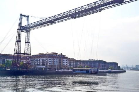 Vistas Puente Colgante Bizkaia Portugalete País Vasco