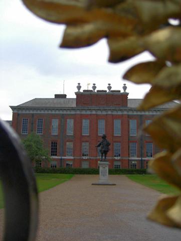 Fachada Palacio Kensigton Diana valla Hyde Park Londres