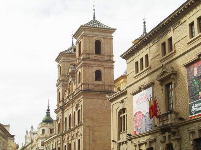 Torres Iglesia Santo Domingo Barroco Murcia