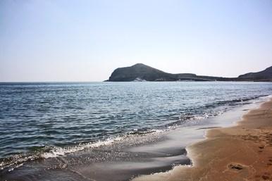 Orilla playa de los Genoveses Cabo de Gata Almería