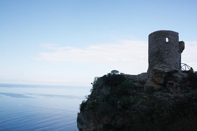Torre Ses Ànimes Banyalbufar mar Mediterráneo Mallorca