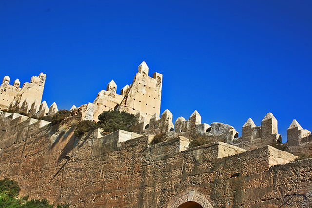 Muralla Jayran Cerro San Cristobal Almería