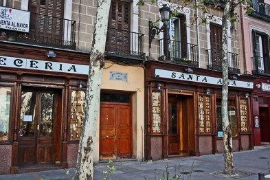 La Plaza Santa Ana mas famosa del Barrio de las letras