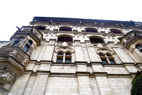 Picado fachada castillo Blois Francia
