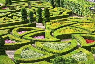 Cortes geométricos y formas espléndidas Jardines de Villandry Valle del Loira