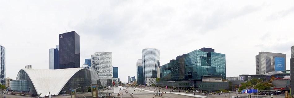 Panorámica rascacielos La Défense París