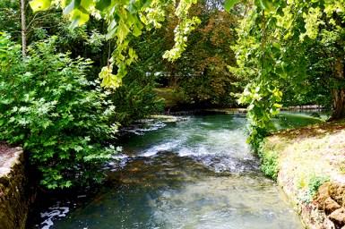 Río cerano castillo Azay Le Rideau Francia