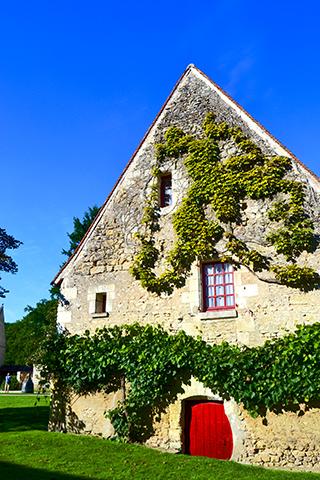 Viviendas piedra alrededores castillo Chenonceau
