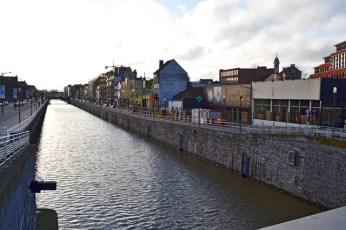 Canal navegable noroeste Bruselas