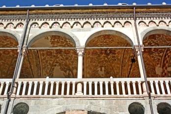 Frescos Palazzo della Regione Plaza delle Erbe Padua