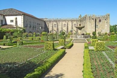Jardín Santa Bárbara Palacio Episcopal Braga