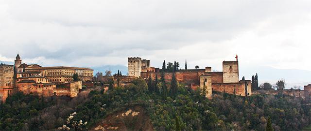 Panorámica Alhambra Granada Mirador San Nicolás