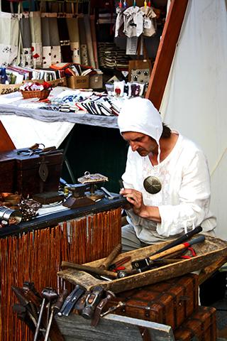 Artesano zapatos tienda tradicional Stare Miasto Cracovia