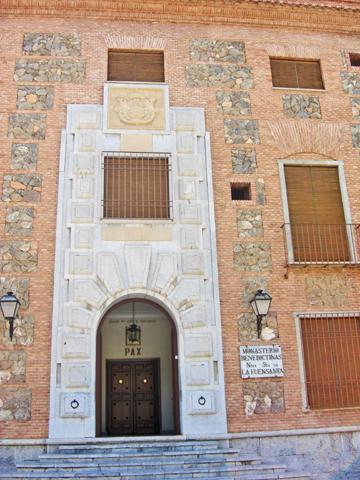 Fachada edificio Monasterio Benedictinas Fuensanta Murcia