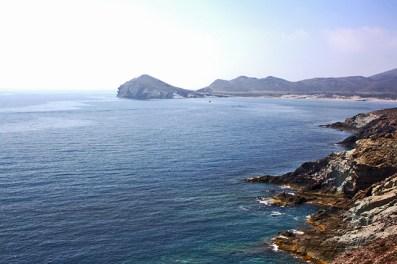 Vistas Morrón de Los Genoveses Cabo de Gata Almería