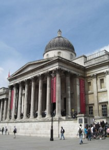 Entrada National Gallery Trafalgar Square