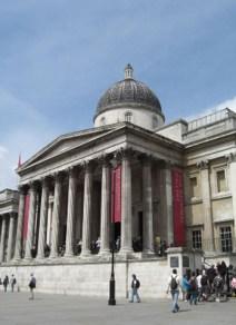 Entrada National Gallery Trafalgar Square