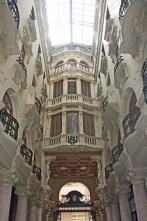 Interior pasaje Lodares Albacete