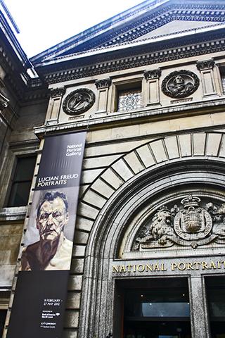 Exposición Lucian Freud Portraits National Portrait Gallery Londres