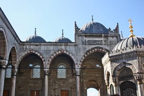 Interior Mezquita Nueva centro histórico Estambul