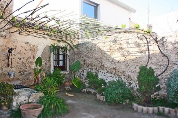 Patio interior pozo plantas Casa Museo Miguel Hernández Orihuela