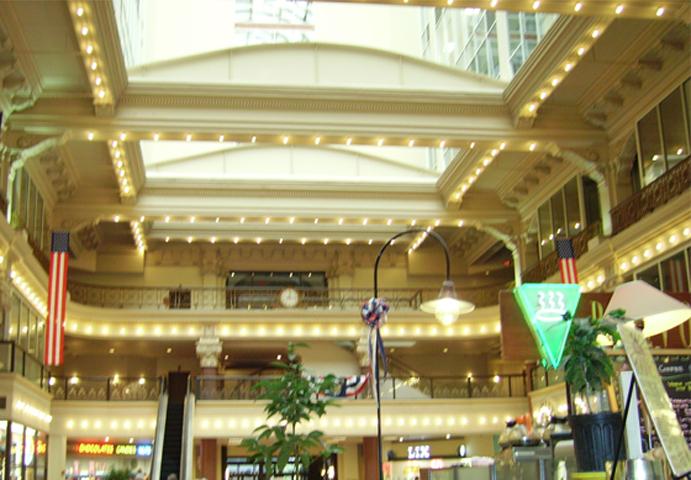 Philadelphia mall decoración Estados Unidos