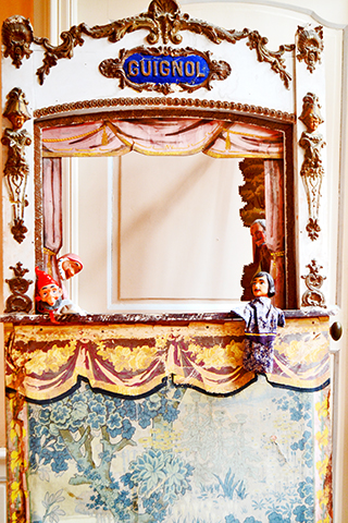 Teatro guiñoles Castillo de Villandry