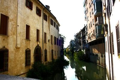 Ponte delle Torrichele e Gualchiere Prato della Valle Padua