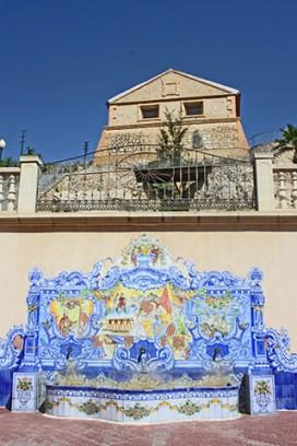 Pozos Cremós mampostería azulejo centro Orihuela Alicante