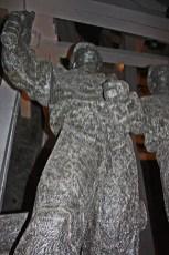 Escultura minero sal Minas sal Wieliczka Cracovia