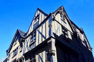 Viviendas tradicionales Place du Plumerau Tours