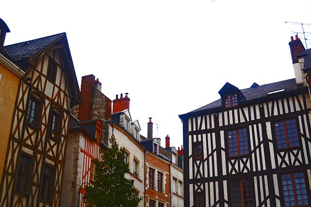 Viviendas medievales Calle Poirier Orleans