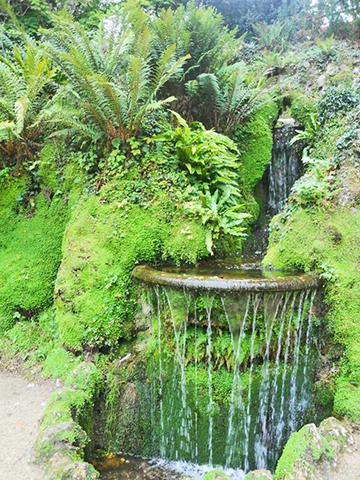 Jardín japonés cascada Powerscourt