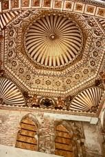 Bóveda Sinagoga judía El Tránsito Toledo
