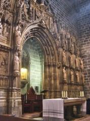 Retaule i altar major del Sant Calze