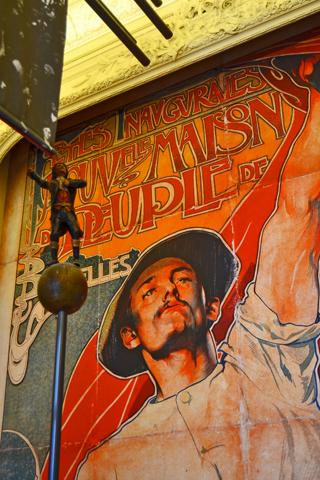 Hombre revolución Musee Bellevue Bruselas