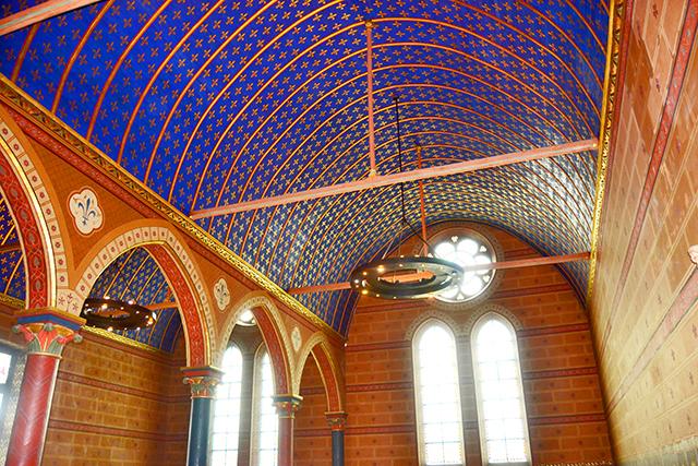 Decoración interior sala Estados Generales reuniones Castillo Blois