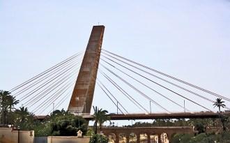 Salvant el Vinalopo des del Pont de la Generalitat