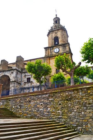 Escalinatas Basílica Santa María Portugalete Vizcaya
