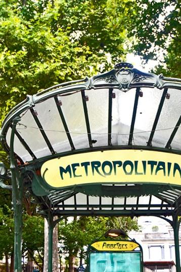 Para metro Modernismo Art Decó Montmartre París