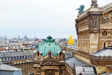 Panorámica techo Ópera garnier París