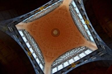 Enorme cúpula Estación Central Amberes