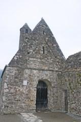 St Kevin vivienda celta piedra Glendalough Irlanda