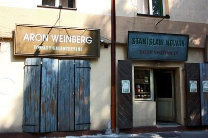 Tiendas supermercado barrio judío Kazimierz Lista Schindler Cracovia