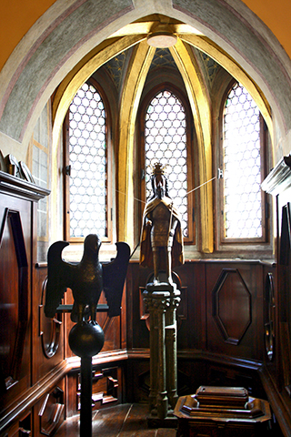 Capilla cristo águila atril Collegium Maius Cracovia