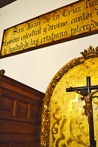 Escultura Cristo Museo San Juan de la Cruz Úbeda Jaén