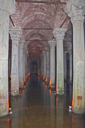 Basílica de la Cisterna Medusa Estambul