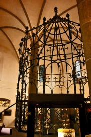 Atril hierro sinagoga judía Kazimierz Cracovia