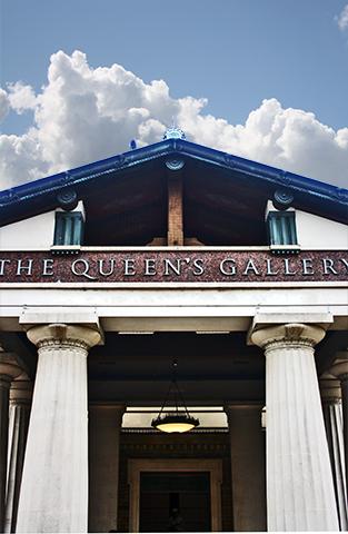 Entrada The Queens Gallery Londres