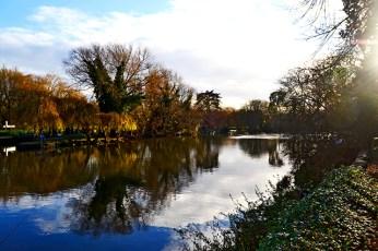 Vistas río Avon Holy Trinity Church Stratford-Apon-Avon